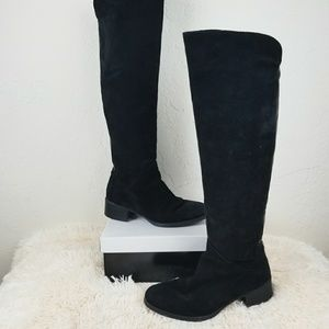 Zara Basic Suede and Leather Boots 6050
